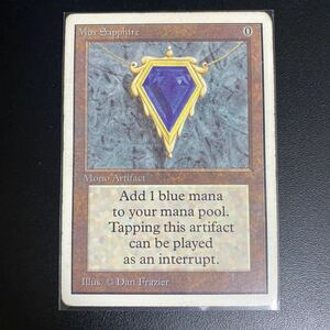 Mox Sapphire 2ED 状態HP