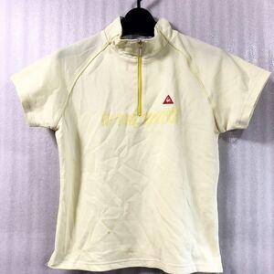 ルコックゴルフ le coq sportif GOLF S スポーツシャツ 胸元ジップ 21-0704-09