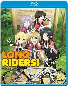 【送料込】ろんぐらいだぁす!全12話 (北米版 ブルーレイ) Long Riders blu-ray BD