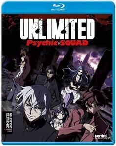 【送料込】THE UNLIMITED 兵部京介 全12話 (北米版 ブルーレイ) Unlimited Psychic Squad blu-ray BD