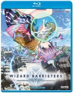 【送料込】ウィザード バリスターズ - 弁魔士セシル 全12話 (北米版 ブルーレイ) Wizard Barristers blu-ray BD