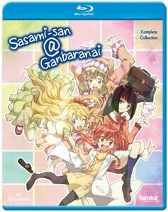 【送料込】ささみさん@がんばらない 全12話 (北米版 ブルーレイ) Sasami-San@Ganbaranai blu-ray BD