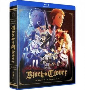 【送料込】ブラッククローバー 第1期 全51話 (北米版ブルーレイ) Black Clover Season 1 blu-ray BD