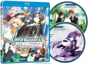 【送料込】リトルバスターズ! ~Refrain~ 全13話(北米版 ブルーレイ) Little Busters Refrain blu-ray BD ③