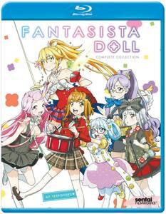 【送料込】ファンタジスタドール 全12話 (北米版 ブルーレイ) Fantasista Doll blu-ray BD