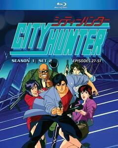 【送料込】シティーハンター シーズン1 Set 2 全25話(北米版ブルーレイ) City Hunter Season 1 Set 2 blu-ray BD