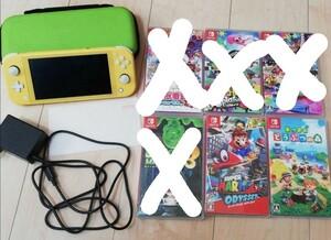 Nintendo Switch ニンテンドースイッチライト本体 マリオオデッセイ  あつまれどうぶつの森 ソフト