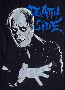 デスサイド Tシャツ 黒ブラック PUNK パンク ハードコア ジャパコア GISM GAUZE OUTO GHOUL LIPCREAM アスフォートディスクローズ レア廃盤