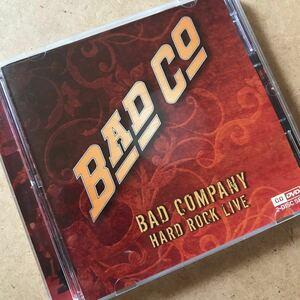 ◆ ♪Bad Company バッドカンパニー /Hard Rock Live 1CD+1DVD(ボーナスDVD付き)輸入盤