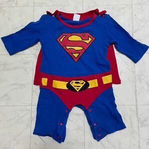 カバーオール ベビー スーパーマン