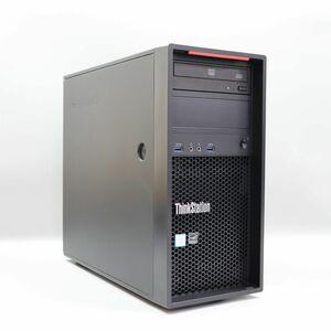1円スタート Lenovo ThinkStation P300 Tower CPU:Xeon E3-1241 v3/メモリ16GB/HDD1TB /Quadro K620/Windows 10 Pro)