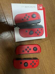 Joy-Con ニンテンドースイッチジョイコン ジョイコン Nintendo Switch Joy-Con (L) ニンテンドースイッチ レッド 任天堂 訳あり