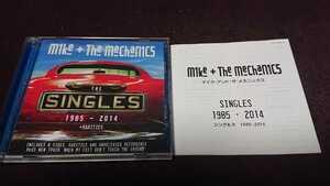 マイク&ザ・メカニックス 日本盤2枚組ベストCD 『シングルズ 1985-2014』(2SHM-CD) TYCP-80034/5