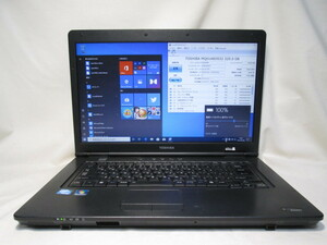 東芝 dynabook Satellite B451/D PB451DNANR5A53 Celeron B800 1.5GHz 4GB 320GB 15.6インチ DVD作成 Win10 64bit Office [79599]