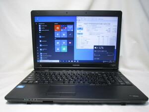 東芝 dynabook Satellite B452/G PB452GNBPR5A71 Celeron B830 1.8GHz 4GB 320GB 15.6インチ DVD作成 Win10 64bit Office USB3.0 [79597]