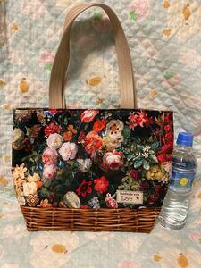 花柄 フラワーガーデン トートバッグ ハンドメイド
