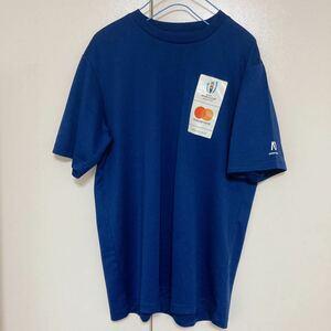 ラグビー ワールド カップ ジャパン 2019 Tシャツ 紺 L スポーツ トレーニング ウェア