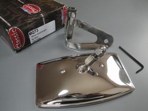 new goods Chrome over te- King mirror RHD TEX MQT3 vMntj vJntj **