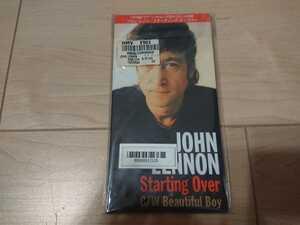 ★ジョン・レノン John Lennon ★スターティング・オーヴァー (Just Like) Starting Over ★8センチCD ★国内盤 ★中古品
