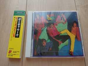 ★ローリング・ストーンズ The Rolling Stones ★ダーティ・ワーク Dirty Work ★旧規格CD ★国内盤 ★帯付き ★中古品