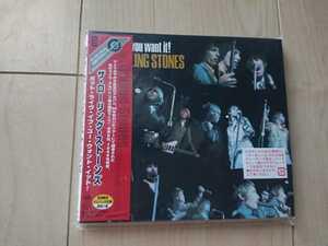 ★ローリング・ストーンズ The Rolling Stones ★ Got Live If You Want It! ★デジパック仕様CD ★国内盤 ★帯付き ★未開封