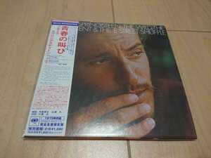 ★Bruce Springsteen ★青春の叫び The Wild, The Innocent & The E Street Shuffle ★紙ジャケット仕様CD ★国内盤 ★帯付き ★中古品