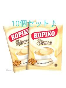 匿名配送 KOPIKO 3in1 Coffee Blanca ブランカ コピコ 珈琲 ミルク 砂糖入り インスタントコーヒー