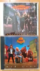 NIGHT RANGER ナイトレンジャー CD 2枚