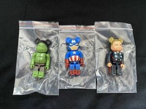 Be@rbrick marvel captain thor hulk 100%ベアブリック BE@RBRICK KAWS BAPE ペコちゃん 招き猫