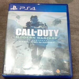 PS4 コールオブデューティ モダンウォーフェア リマスター リマスタード CALL OF DUTY MW REMASTERED