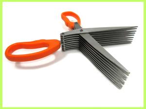 ^v Earnest (Arnest) шреддер ножницы хорошая вещь!9 полосный лезвие! секрет . защита . -! часть 2! orange! частный защита! compact
