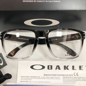 1円~!安心の2年正規保証付き定価22,000円 OAKLEY オークリー 8156-0656 HOLBROOK ホルブルック メガネ 眼鏡 新品 OX8156-0656 8156- 8156