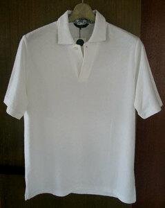 23区オム 23区HOMME 半袖ポロシャツ 48(L) 白 綿100% 日本製 新品