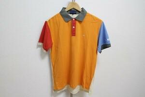 即決 送料198 PEARLY GATES パーリーゲイツ ポロシャツ 半袖 カラフル サイズ1 GOLF ゴルフ トップス メンズ #684796