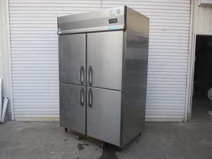 y1713-6 業務用 ダイワ 4ドア冷凍庫 403SS-EC 2012年製 3Φ200V W1200×D800×H1900 店舗用品 中古 厨房
