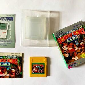 GB スーパードンキーコングGB 箱説あり ゲームボーイ Game Boy Donkey Kong