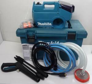 K9794td 売り切り!1円スタート 未使用 マキタ makita 充電式高圧洗浄機 MHW080D 36V バッテリー式
