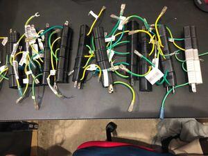 【50個セット】電源ケーブルの3ピン2ピン変換アダプター