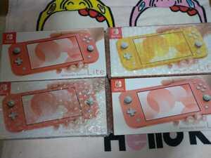 任天堂 スイッチ ライト Nintendo Switch Lite 本体 ピンク3個・イエロー1個 4個セット