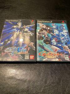 機動戦士ガンダム SEED クライマックスU.C. 2点セット PS2ソフト PS2