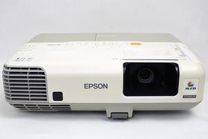 【中古】EPSON 液晶プロジェクター EB-910W リモコンなし・本体いたみ