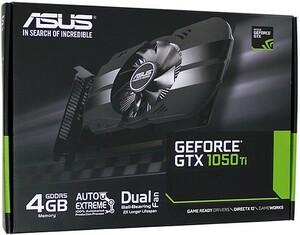 【中古】ASUSグラボ PH-GTX1050TI-4G PCIExp 4GB 元箱あり