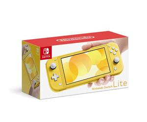 【中古】任天堂 Nintendo Switch Lite(ニンテンドースイッチ ライト) HDH-S-YAZAA イエロー 元箱あり