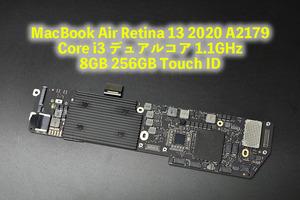 MacBook Air Retina 13 2020 A2179 Core i3  dual core  A  1.1GHz 8GB 256GB  Логика  доска  Touch ID  бывший в употреблении товар  1-719-7