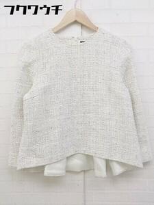 ◇ Demi-Luxe BEAMS デミルクス ビームス 七分袖 カットソー サイズ 38 オフホワイト レディース 1106150009609