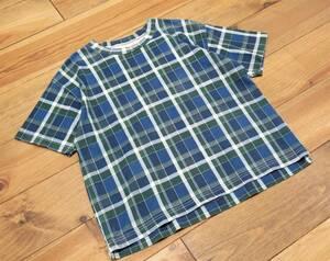 19年SS BEAMS BOY マドラスチェッククルーネックTシャツ