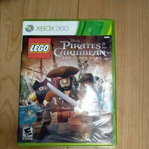XBOX360  北米版 LEGO パイレーツ・オブ・カリビアン the video game 未開封