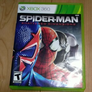 XBOX360 SPIDERMAN shattered dimensions