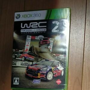 XBOX360 WRC2 ワールドラリーチャンピオンシップ 未開封