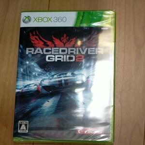 XBOX360 RACE DRIVER GRID2 未開封
